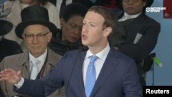 Facebook founder Mark Zuckerberg is due to testify before Congress on April 10-11. (file photo)