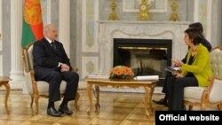 Аляксандар Лукашэнка сустрэўся 16сакавіка састаршынёй Парлямэнцкай асамблеі АБСЭ Крыстын Мутанэн