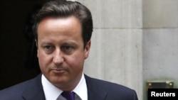 Премьер-министр Великобритании Дэвид Кэмерон, Лондон, 11 августа 2011