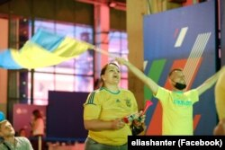 Українські вболівальники в Римі Матч Україна-Нідерланди, 14 червня 2021 року. Світлини з фейсбучної сторінки Elias Hanter