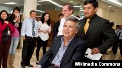 Эквадор президенти лавозимига номзод Ленин Морено.