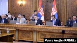 Jedna od sednica Vlade Srbije