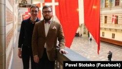 Евгений Войцеховский и Павел Стоцко, заключившие брак в Дании и объявившие о том, что этот статус признали в России.