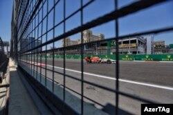Bakıda Formula-2 yarışlarına start verilib. 23 iyun 2017 (foto AzerTAC)