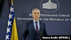 Mirko Šarović, ministar vanjske trgovine BiH