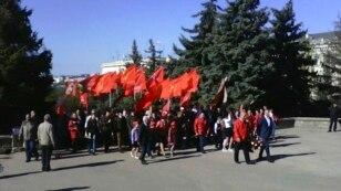 Севастопольские коммунисты провели митинг в честь дня рождения Владимира Ленина