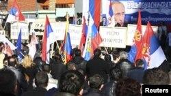 Архивска фотографија: Протест на Србите во Косовска Митровица.