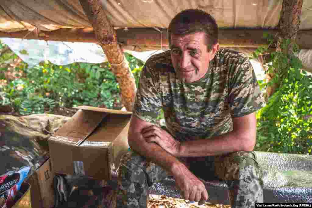 Боєць з позивим «Панда» розповідає, що брав участь у будівництві Донецького аеропорту