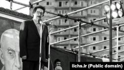 یکی از سخنرانیهای عمومی آقای بنیصدر در اوائل انقلاب