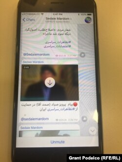 Within a week, Zam's Sedaie Mardom channel had attracted more than 1.3 million subscribers, many of them in Iran itself.