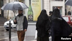 Women wearing full-face veils in public spaces has been banned in France since 2011.