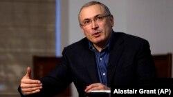 Михаил Ходорковский, ресейлік оппозициялық саясаткер.