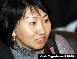 Айна Шорманбаева, құқық қорғаушы.
