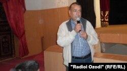 Бывший председатель города Куляб Абдугаффор Рахмонзода.