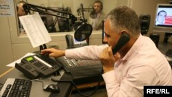 "Radio Azadi's call-in show ""On The Waves Of Liberty"" receives hundreds of calls from Afghan listeners each week."