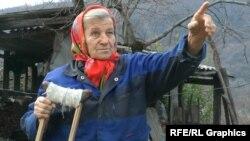 Надежда Кухаренко – жительница села Ахштырь
