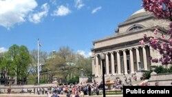 نمایی از دانشگاه کلمبیا در شهر نیویورک