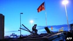 2013-cü il Taksim etirazlarından görüntü