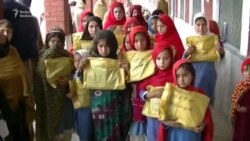 Pakistani Girls Encouraged To Stay in School, Given Winter Clothes