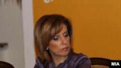 Елизабета Канчевска Милевска, поранешната министерка за култура