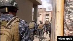 Архивска фотографија-ирачките војници во Мосул