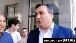 Armenia -- Culture Minister Armen Amirian announces his resignation. 02May, 2018