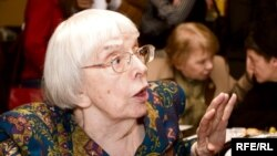Lyudmila Alekseyeva says the new law would allow the authorities to interpret virtually any form of dissent as treason.