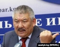 Азимбек Бекназаров, бывший координатор силовых структур Кыргызстана.