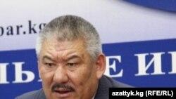 Бывший глава Переходного правительства Кыргызстана Азимбек Бекназаров.