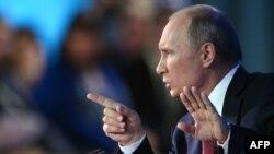 Ресей президенті Владимир Путин. Мәскеу, 20 желтоқсан 2012 жыл.