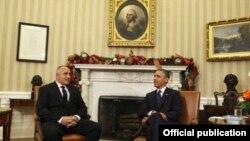 Boiko Borisov şi Barack Obama