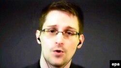 Former U.S. intelligence contractor Edward Snowden