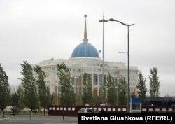 Акорда - резиденция президента Казахстана в Астане.