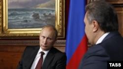 Віктор Янукович та Володимир Путін. Архівне фото