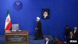حسن روحانی در نشست خبری روز یکشنبه
