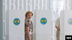 Кандидат от пророссийской партии социалистов Зинаида Гречаная