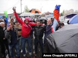 Erevan, protestele au intrat in a 9-a zi, 21 aprilie 2018