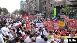 «Երուսաղեմի օրվան» նվիրված ցույցը Թեհրանում, 18 սեպտեմբերի, 2009