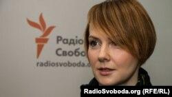 Намесьніца міністра замежных спраў Украіны Алена Зяркаль