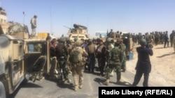 خروتی: نیروهای تازه نفس که به ارزگان رسیدهاند و مشغول عملیات تصفیوی هستند.