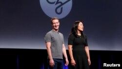 Жубайлар Марк Цукерберг жана Присцилла Чан, 21-сентябрь, 2016