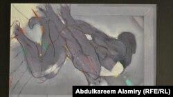 لوحة للفنان جاسم الفضل