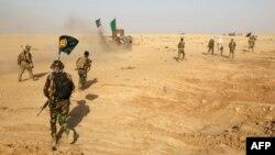 نیروهای شیعه «بسیج مردمی» در اطراف موصل