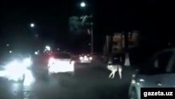 Кадр из видео.