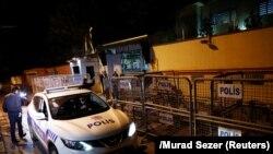 Türkiyə polisi İstanbuldakı Səudiyyə konsulluğunda axtarışı başa çatdırıb
