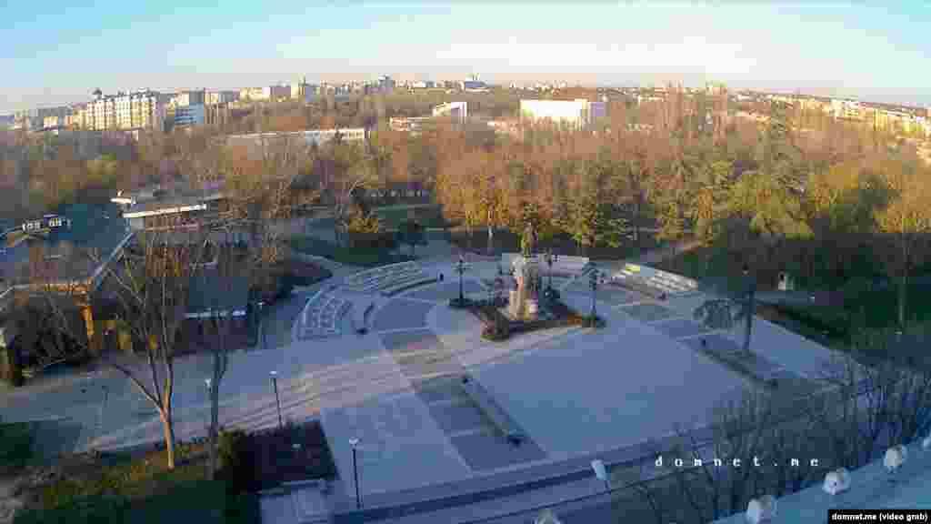 Вечер в Городском саду (сейчас – Екатерининский сквер)