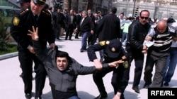 «Azadlıq» blokunun mitinqi, 26 aprel 2010
