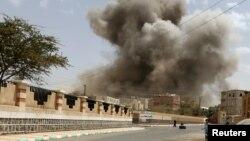 Столиця Ємені Сана після авіаудару