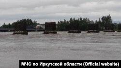 Затопление в Иркутской области