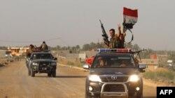 İraqda hökumət qüvvələri, arxiv fotosu